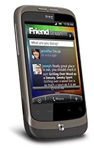 HTC Wildfire Sim Free Mobile  Phone - Metal Mocha (discontinued by manufacturer)