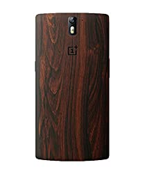 dbrand Mahogany Wood Back Mobile Skin for Oneplus One