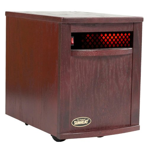 The Original SUNHEAT Electronic Infrared Zone Heater, Black Cherry image B0081TWHR6.jpg