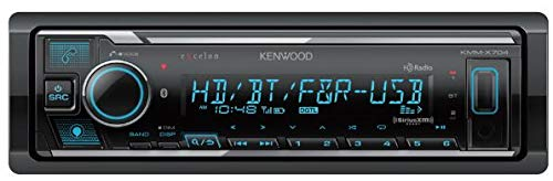 Kenwood eXcelon KMM-X704 Digital Media Receiver with Alexa, Bluetooth and HD Radio Compatibility