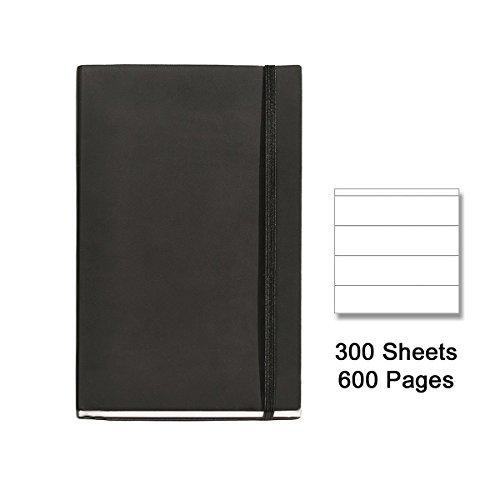 basicos-mr-10415-flexible-piel-cuaderno-8300-hojas-horizontal-con-goma-color-negro