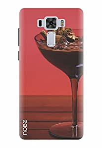 Noise Designer Printed Case / Cover for Asus ZenFone 3 Laser ZC551KL with 5.5 inch screen size / Graffiti & Illustrations / Chocolate wine Design