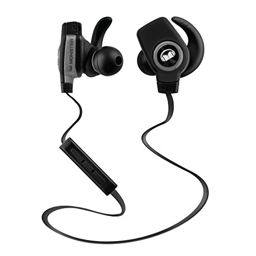 monster isport superslim bluetooth wireless in ear headphones black lazada malaysia. Black Bedroom Furniture Sets. Home Design Ideas