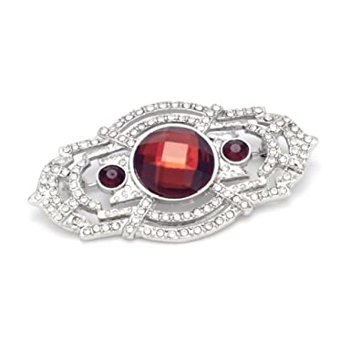 Rectangular Deco Brooch||RNWIT
