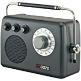 C Crane Co CC Gozo AM FM Radio with High Fidelity Audio