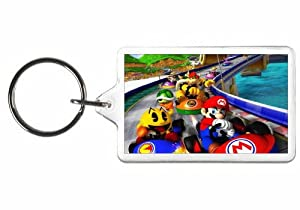 mario kart keychain video game key tag xbox. Black Bedroom Furniture Sets. Home Design Ideas