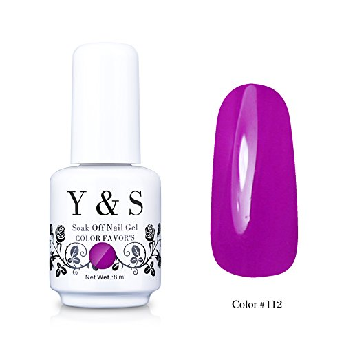 Yaoshun-Gelpolish-Soak-off-Gel-Nail-Polish-UV-LED-Nail-ArtBeauty-Care-8ml-112