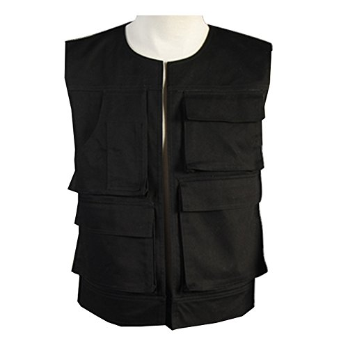 Tideshop Star Wars ANH A New Hope Han Solo Vest Costume (Han Solo Costume Shirt)