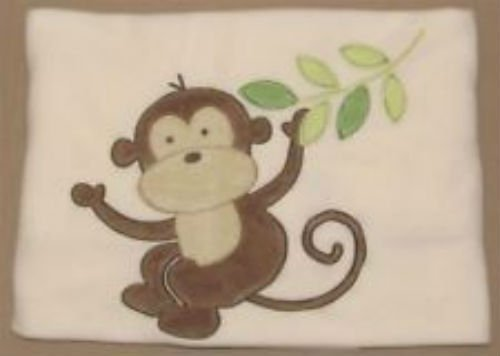 Garanimals Monkey Designed Fleece Baby Blanket