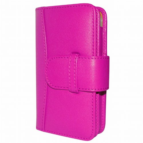 Best Price Apple iPhone 5 / 5S Piel Frama Pink Leather Wallet