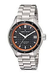 Claude Bernard Mens 70168 3M NO Analog Display Swiss Quartz Silver Watch