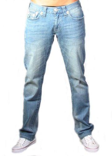 Laguna Beach - Hermosa Beach Mens Designer Jeans, blue men 29