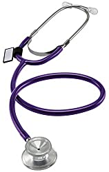 MDF Instruments MDF747-08 Dual Head Lightweight Stethoscope (Purple)