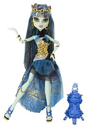 Monster High 13 Wishes Haunt the Casbah Frankie Stein Doll by Mattel TOY (English Manual)