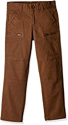 Cherokee Boys' Trousers (267412223_Brown_07Y)