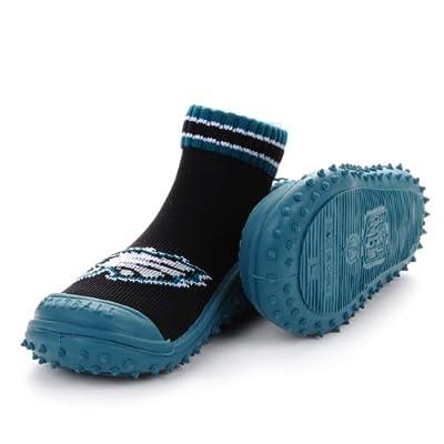 NFL Philadelphia Eagles Infant Skidders Gripper Socks - Black