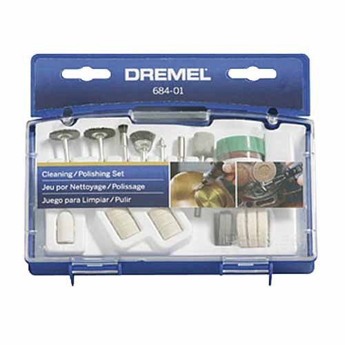 Dremel 684-01 20-Piece Clean & Polish Rotary Tool Accessory Kit With Case picture