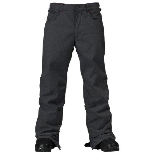 Herren Snowboard Hose Burton Restricted Pistol Pant true black denim L
