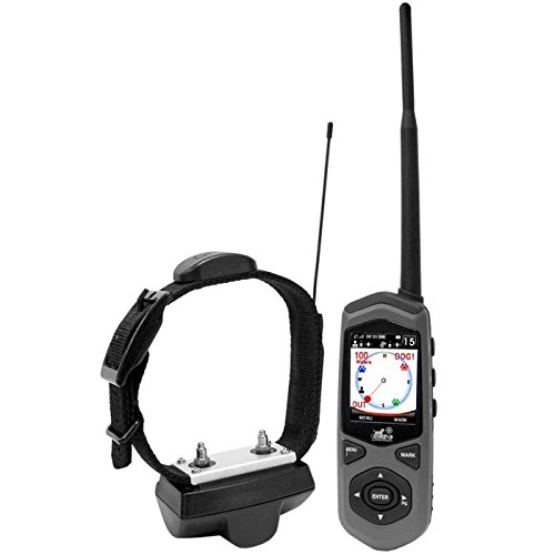 Dog Expedition Tc1 Border Patrol Gps System And Remote Trainer, Black Finish