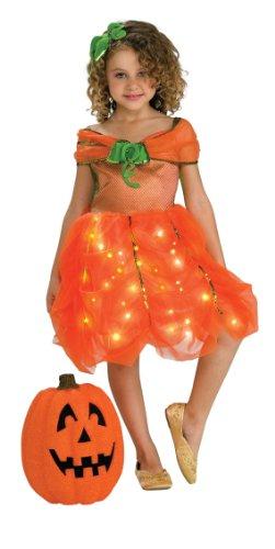 Child's Twinkle Pumpkin Princess Costume, Small
