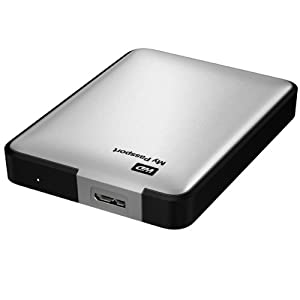 Western Digital My Passport Disque dur externe portable 2,5'' USB 3.0 / USB 2.0 1 To Argent