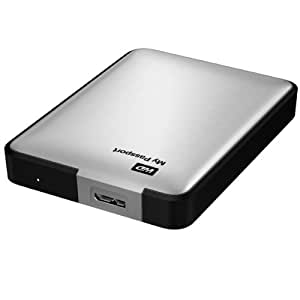 Western Digital My Passport - Disco duro externo de 1 TB, Plateado