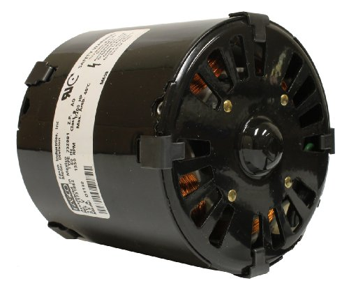 Fasco D1130 Blower Motor, 3.3-Inch Frame Diameter, 1/200 Hp, 1550 Rpm, 115-Volt, 0.5-Amp, Sleeve Bearing