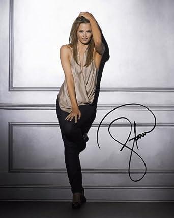 Castle TV series reprint signed Stana Katic photo #1 Kate Beckett at