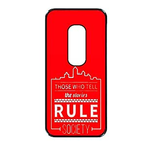 Vibhar printed case back cover for Motorola Moto X (2nd Gen) RuleSociety