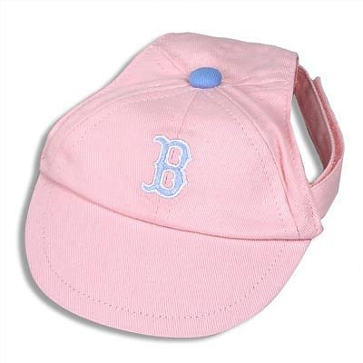 Sporty K9 Boston Red Sox Pink Dog Cap, Small at Amazon.com