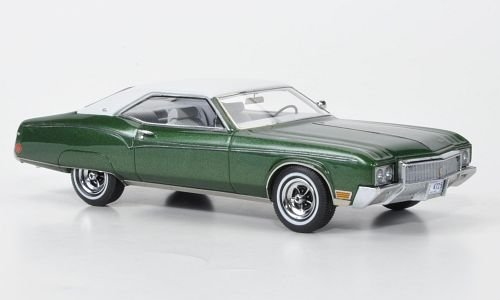 buick-riviera-mkii-metallic-green-white-1970-model-car-ready-made-neo-143