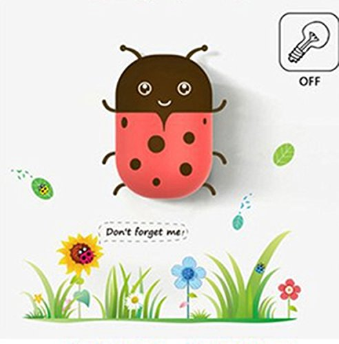 Led Listen Intelligent Sensor Little Night Light, Ladybird By Viskey