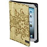 Maroo Tatau II Carrying Case (Portfolio) for iPad - Brown. MAROO SERIES CORNER GRIPS TAN TRIBAL GRAPHICS NYLON FOR IPAD2 TABPEN. Tan Tribal Graphics - Nylon
