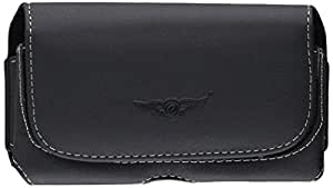 Eagle Cell Horizontal Leather Pouch for Samsung Galaxy S3 - Retail Packaging - Black 2