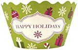 Bella Cupcake Couture 12 Pack Happy Holidays Cupcake Wrappers