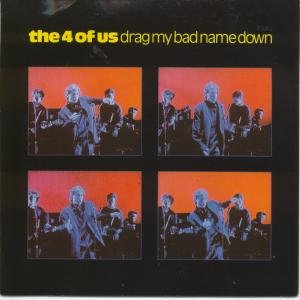 DRAG MY BAD NAME DOWN 7 INCH (7 VINYL 45) UK CBS 1989
