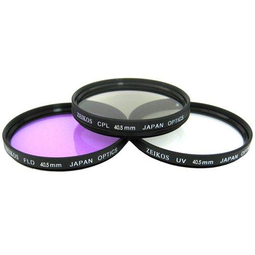40.5mm Filter Kit For Nikon 1 J1, Nikon 1 V1, Nikon 1 J2 Mirrorless Digital Camera(That Use 10-30mm, 30-110mm, 10mm Lenses) Includes 40.5mm Multi-Coated 3 PC Filter Kit (UV, CPL, FLD) + LensPen Cleaning Kit + Lens Cap Keeper + Microfiber Cleaning Cloth