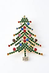 Christmas Tree Pin (Large)