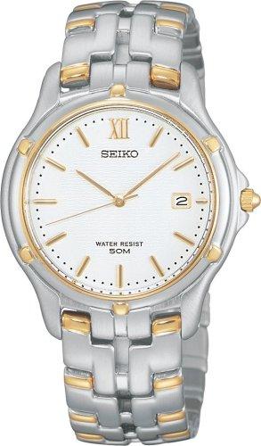 Seiko Men's SLC028 Le Grand Sport Two-Tone Watch ...