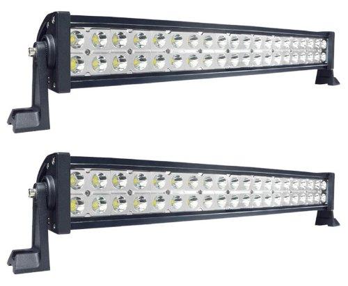 "Mictuning 2× Mic-B21201 10-30V 21.5"" 120W Led Lights Bar Spot Beam Super Bright 8000 Lumen 4×4 Off Road Atv Suv Jeep"