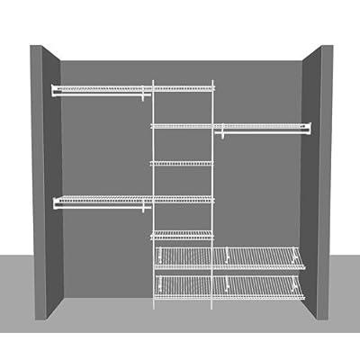 Wardrobe Organiser Kit 1.52m (5') up to 2.44m (8') wide