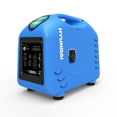 Hyundai HY3000SEi Portable Inverter Generator, 2800-watt