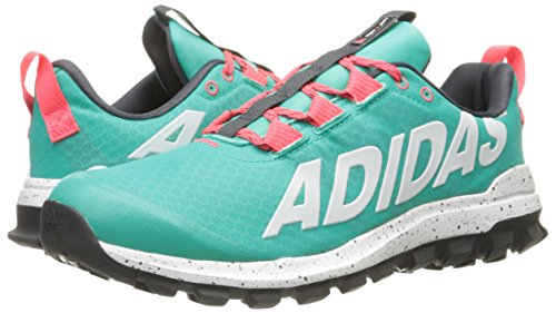 Adidas Performance Women's Vigor 6 Women's Trail Running Shoe,Shock Mint/White/Shock Red,9 M US