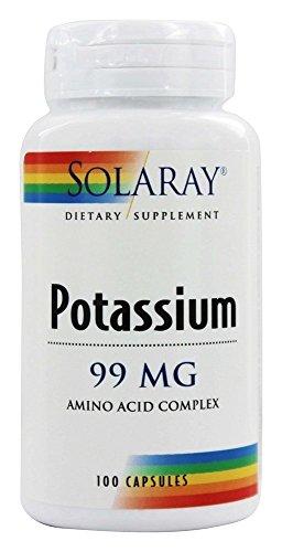 Solaray - Potassium 99 mg. - 100 Capsules (Solaray Potassium 99 Mg compare prices)