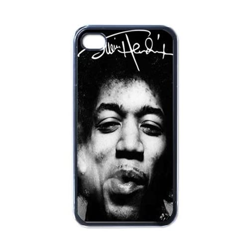 iPhone phone case for iphone 4 : Hendrix Smoke Cool iPhone 4 / iPhone 4s Black Designer Shell Hard Case ...