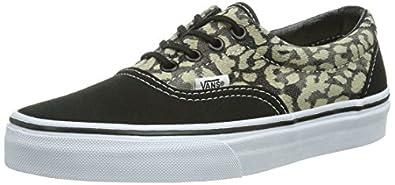 Vans U Era, Baskets mode mixte adulte - Noir (Leopard/Black), 35 EU