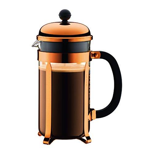 Bodum 8 Cup 1928-18 Chambord Classic Coffee Maker, 34 oz, Copper