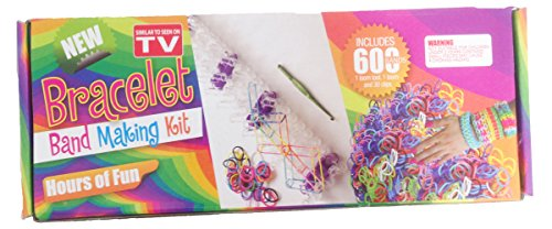 Creative Motion Bracelet Band Making Kit (600-Piece) - 1