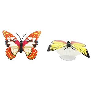 Night Light - TOOGOO(R)1Pcs 7 Color Changing Beautiful Cute Butterfly LED Night Light Lamp by TOOGOO (R)