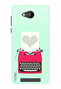 Noise Designer Printed Case / Cover for Lava A67 / Patterns & Ethnic / Love Typewriter Design